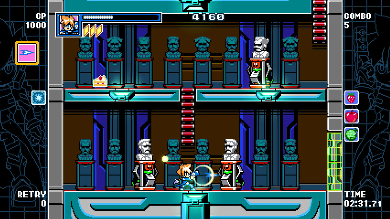 Mighty Gunvolt Burst Review – Retro Redemption 10
