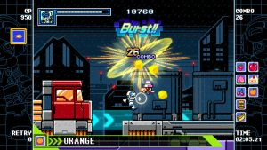 Mighty Gunvolt Burst Review – Retro Redemption 6