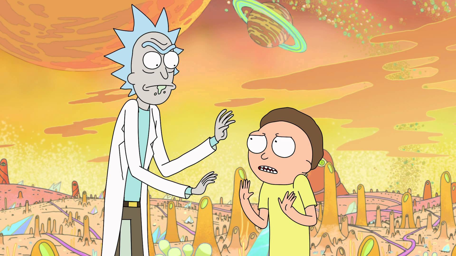 "Rick and Morty Season 3 Mid-Season ""Rick-cap"" 3"