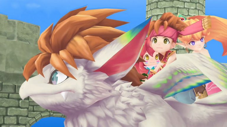 Square Enix Announces Secret of Mana 3D Remake