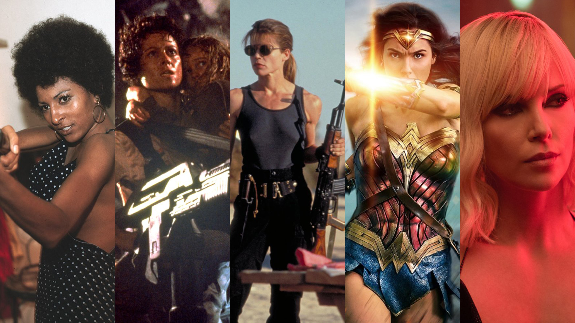 The Top Ten Action Movie Heroines