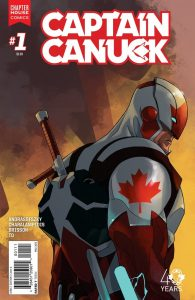 Captain Canuck and Canadian Comic Books, an interview with Kalman Andrasofszky. 3