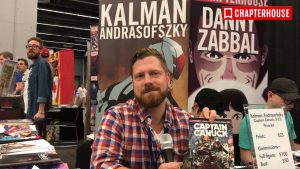 Captain Canuck and Canadian Comic Books, an interview with Kalman Andrasofszky. 4