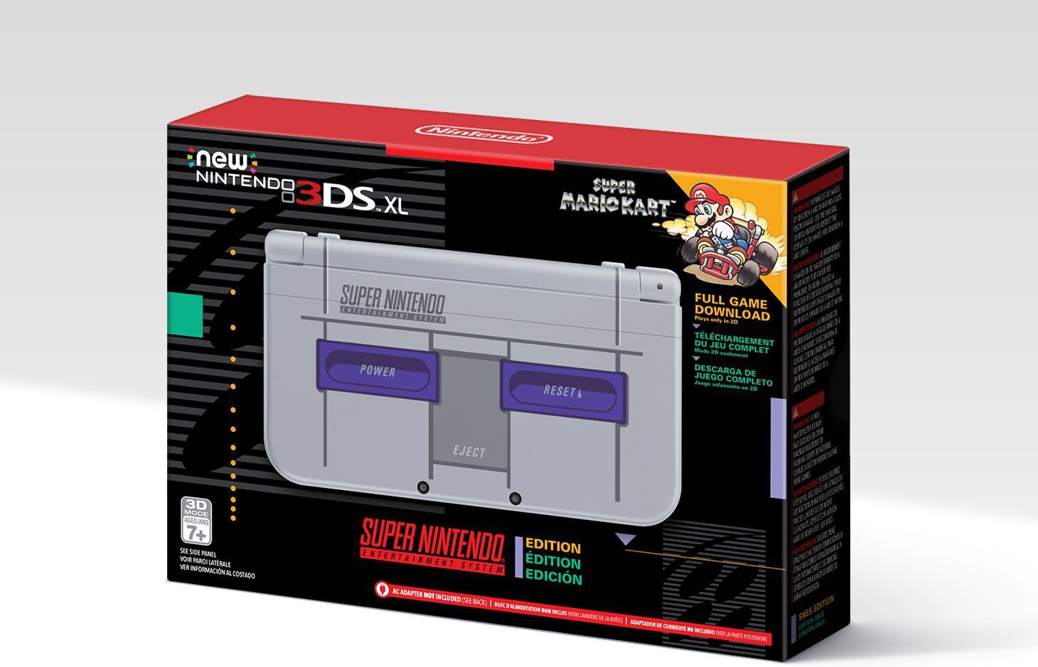 Super Nintendo Themed New 3DS XL Hitting North America November 27 1