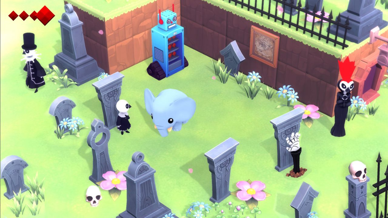 Yono and the Celestial Elephants (Switch) Review: Pretty Pachyderm Packs Palty