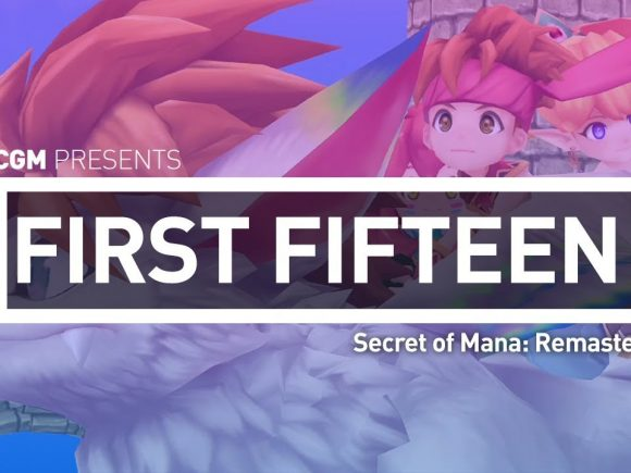 First 15: Secret of Mana Remaster 1