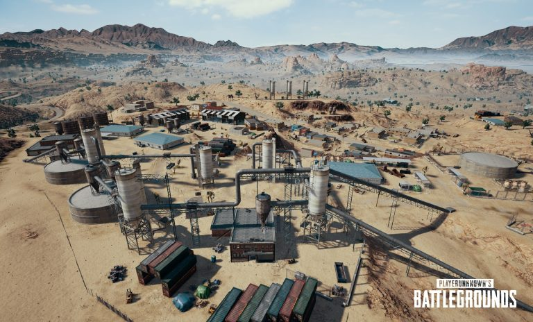 PUBG Unveils New Desert Map Ahead of 1.0 Release