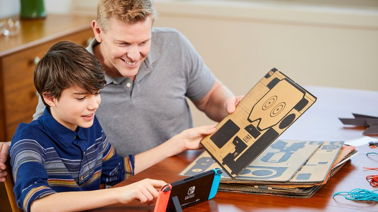 Nintendo officially reveals Nintendo Labo