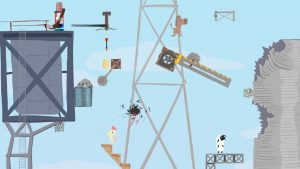 Ultimate Chicken Horse (PS4) Review: Frenetic Multiplayer Craziness!