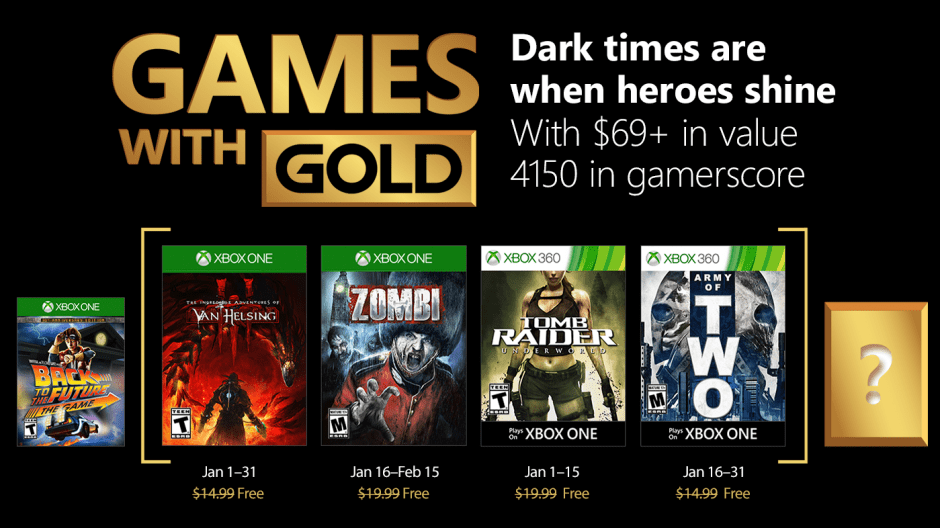 Xbox Gold Users Getting Exciting Games for January 2018! 4