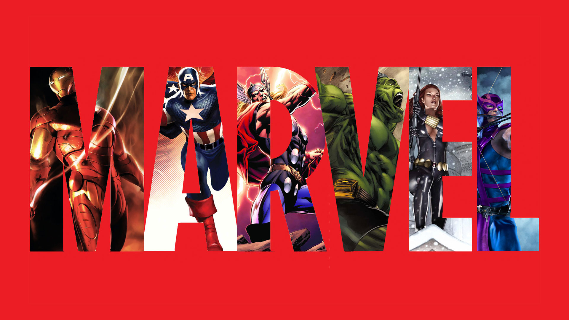 Marvel Celebrates 10 Years With Epic Cast Photo 5