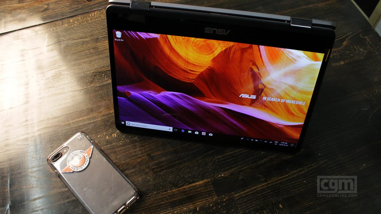 ASUS ZenBook Flip Review 2
