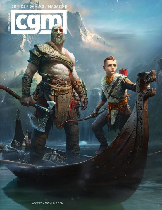 CGMagazine April 2018: God of War 1