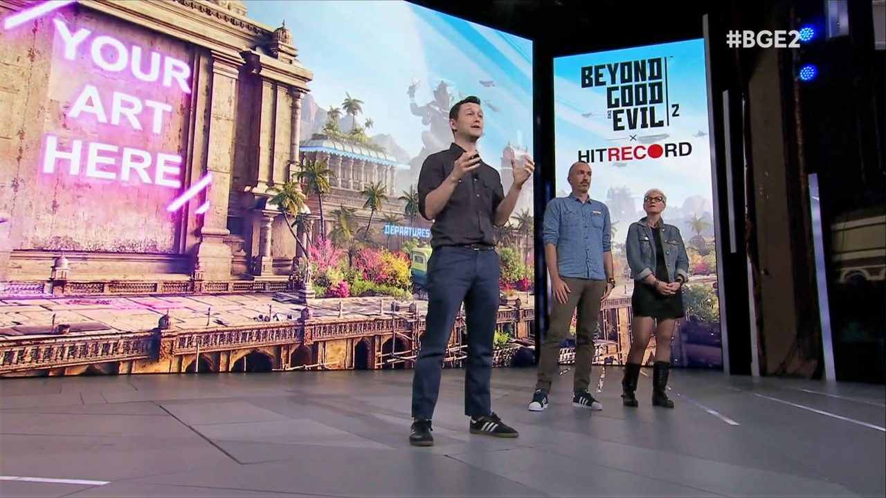 Joseph Gordon-Levitt Takes Ubisoft E3 Stage to Announce Beyond Good and Evil 2 Partnership 4