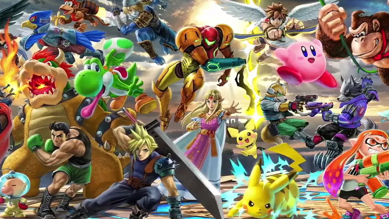 Super Smash Bros. Ultimate Will Have Every Character in Smash History — Nintendo E3 2018 1