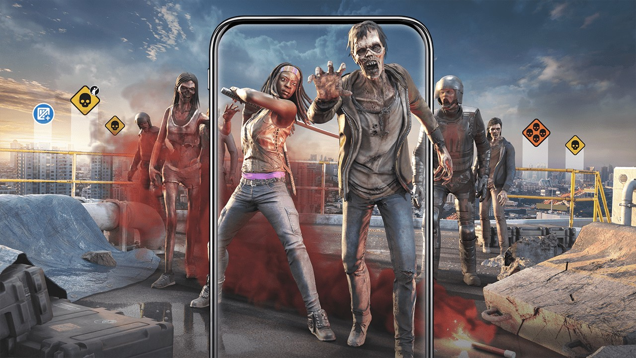 AMC and Next Games Launches Walking Dead AR Location Based Game