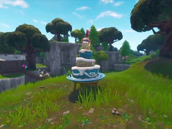 Fortnite Guide:  Where to Find Season 5 Anniversary Event Birthday Cake Locations