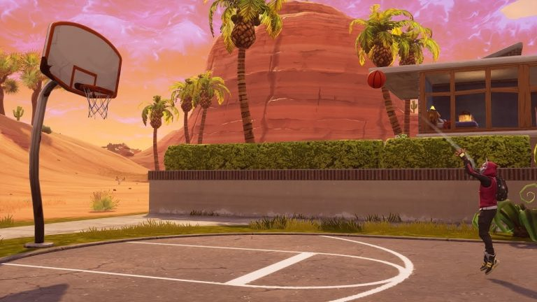 Fortnite Week 2 Season 5 Basketball Court Locations
