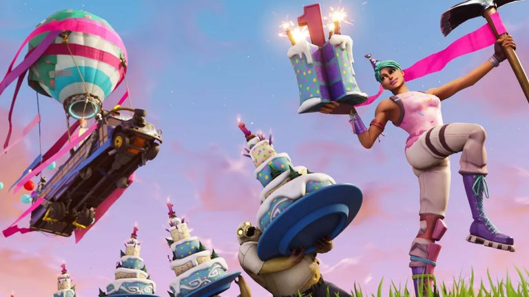 Fortnite's First Birthday Takes the Cake with Exciting New Rewards 3