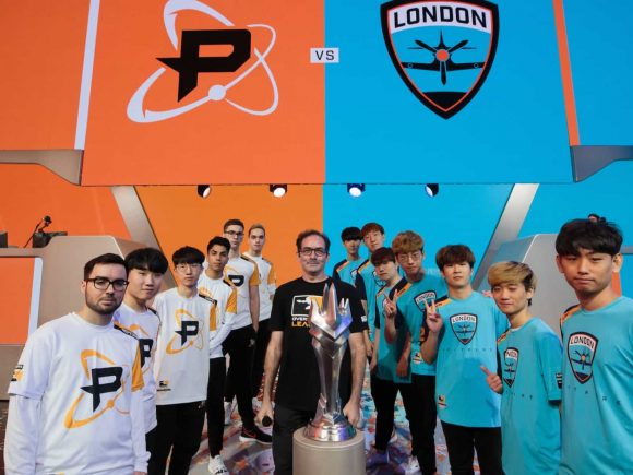 London Spitfire, Philadelphia Fusion Reach Overwatch League Grand Final 1