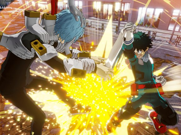 My Hero One's Justice Gets A Flashy New Story Trailer
