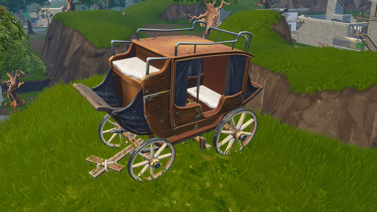 Mysterious Carriage Joins Anchor in Fortnite, Possibly Alluding to Season 5