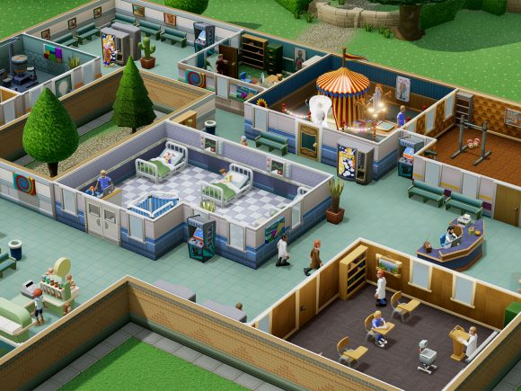 Two Point Hospital Hands-On Preview