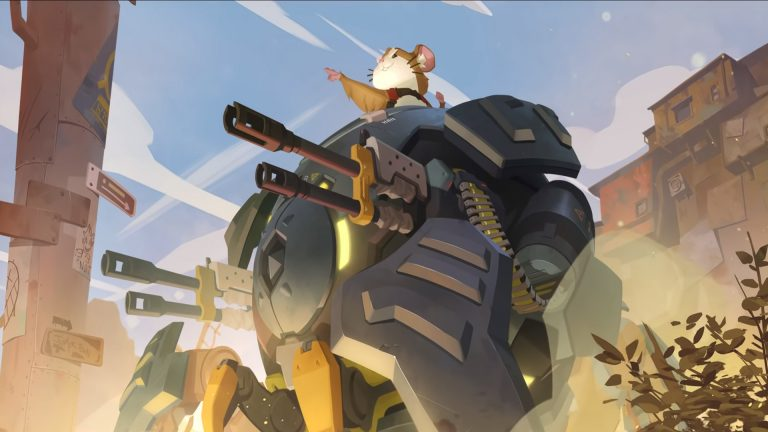 Wrecking Ball Rolls Out Into Overwatch in One Week