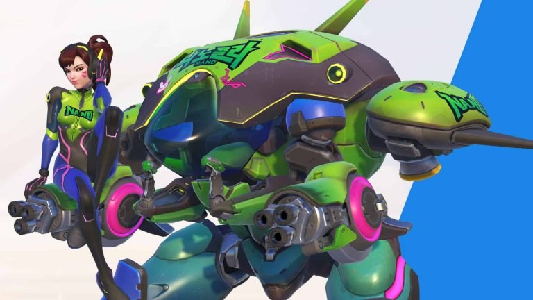 Overwatch Suits Up With D.Va's Nano Cola Challenge