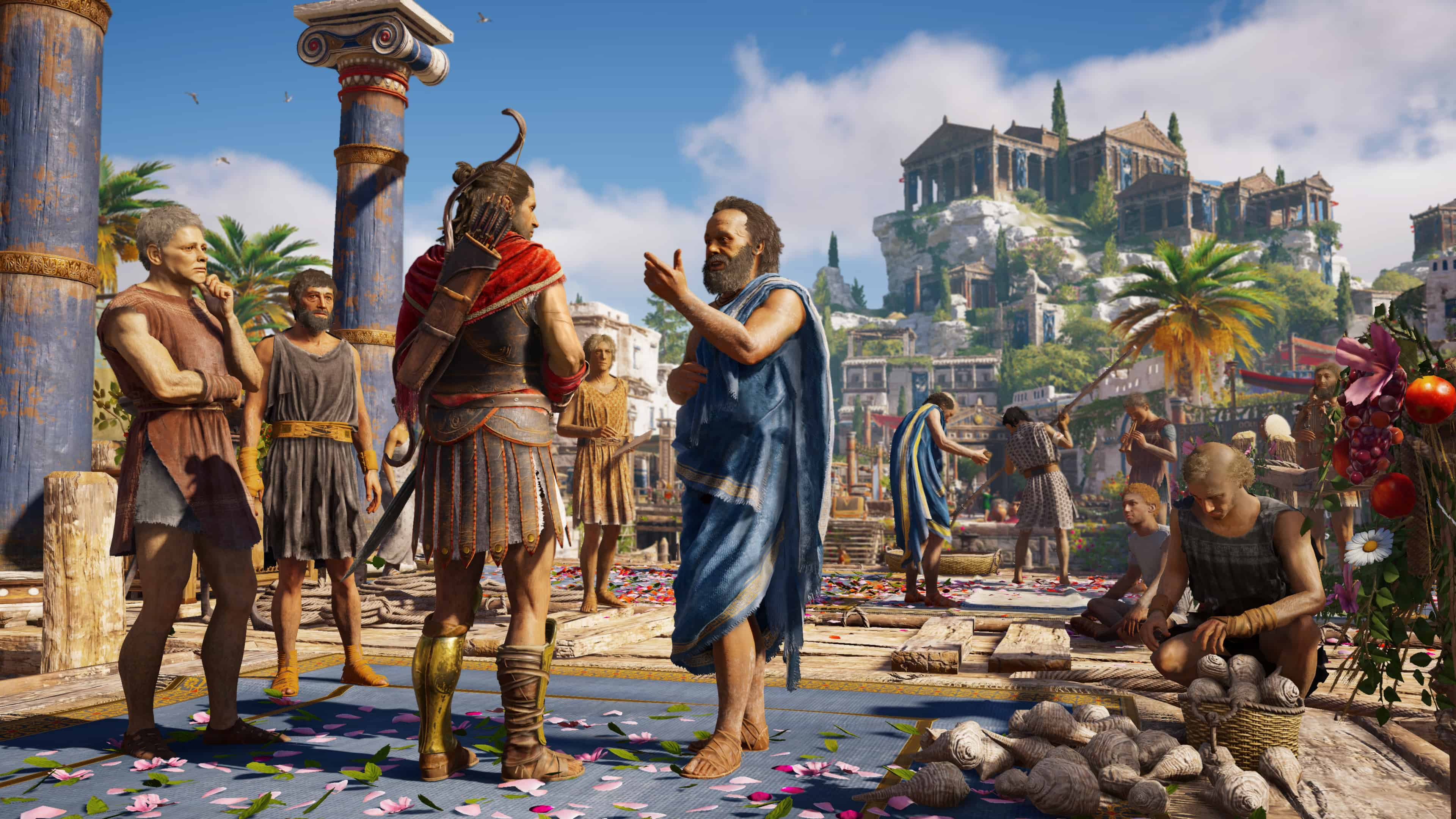 Assassin S Creed Odyssey Ps4 Review Greek Tragedy