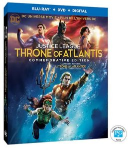 DCU Justice League: Throne of Atlantis Blu-Ray Giveaway 1