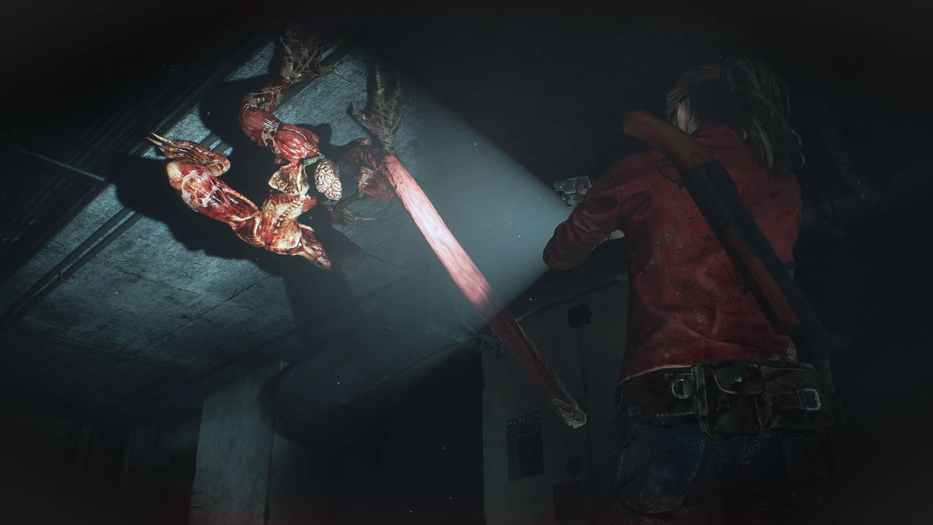 Hands On With Claire S Terrifying Resident Evil 2 Remake Campaign