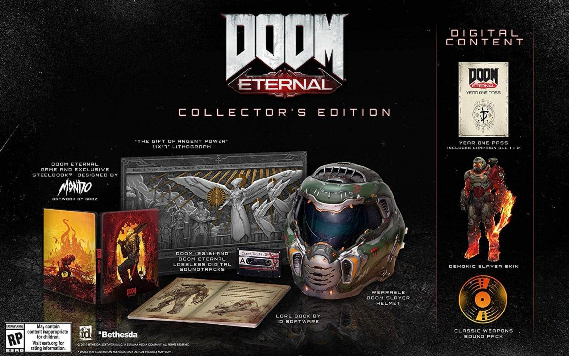 Doom Collectors Edition - Doom Eternal Receiving At Least 2 Campaign Expansions