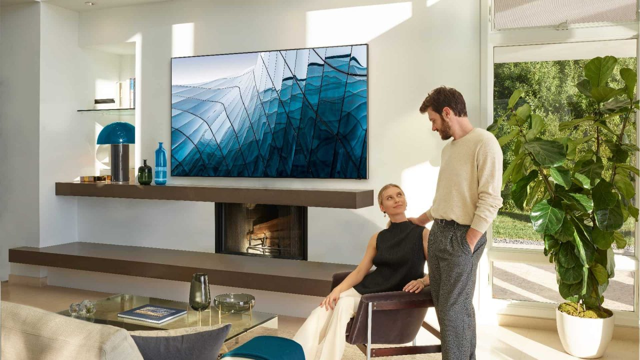 Previewing the Future of Television: Samsung 8K TV 1