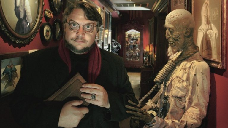 Guillermo Del Toro Receiving Hollywood Star