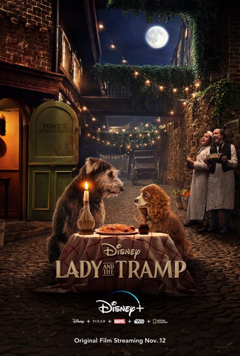 Lady And The Tramp Live-Action Poster Revealed 1