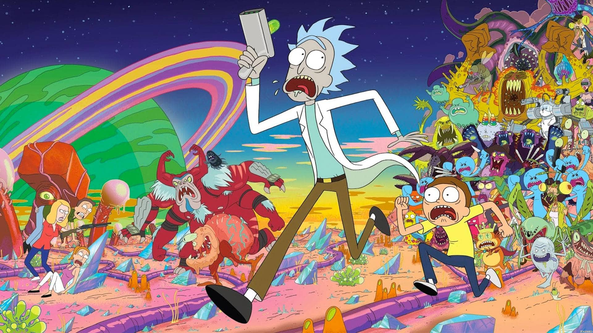 Adult Swim Orders 70 Brand New Episodes Of Rick And Morty
