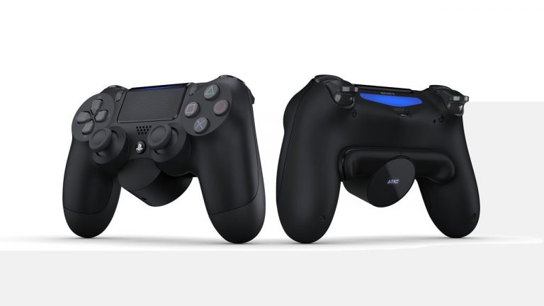 New DualShock 4 Attachment Brings Two Reprogrammable Switches to Controller