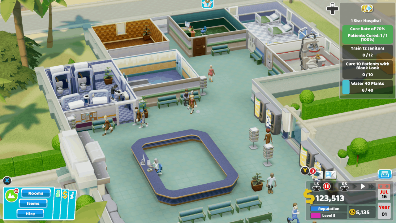 Two Point Hospital Console Review 6