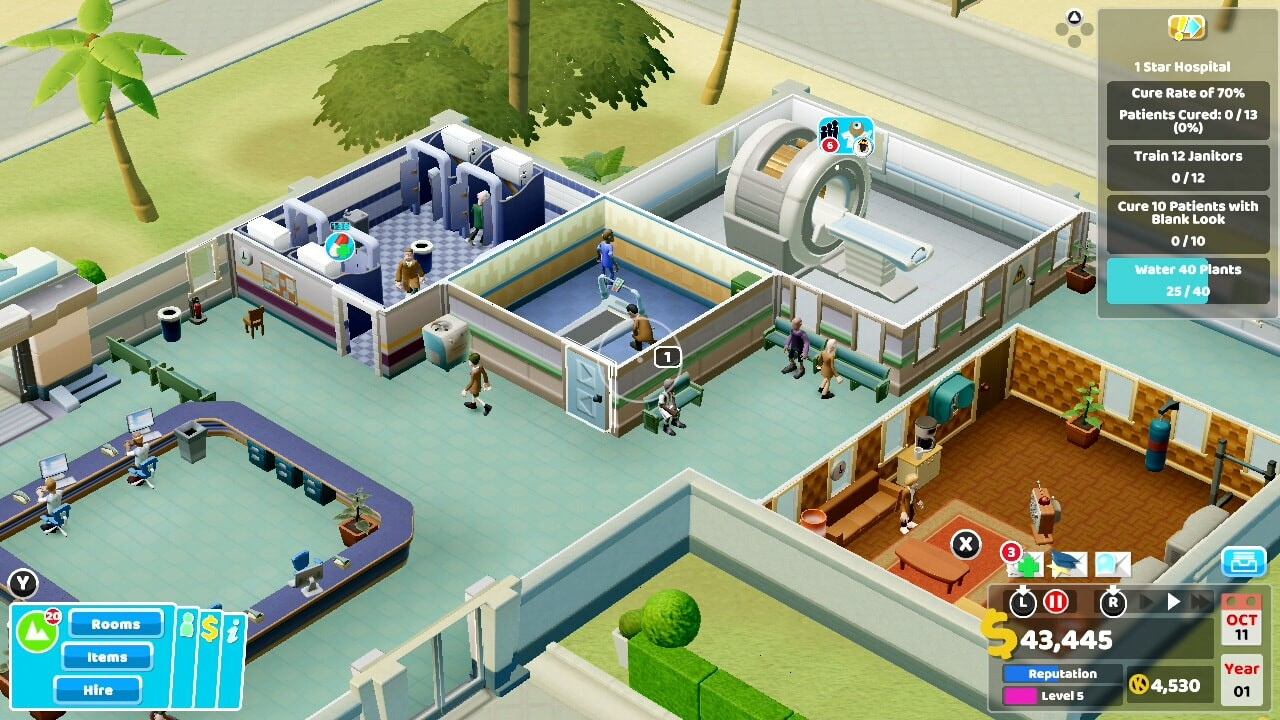 Two Point Hospital Console Review 7