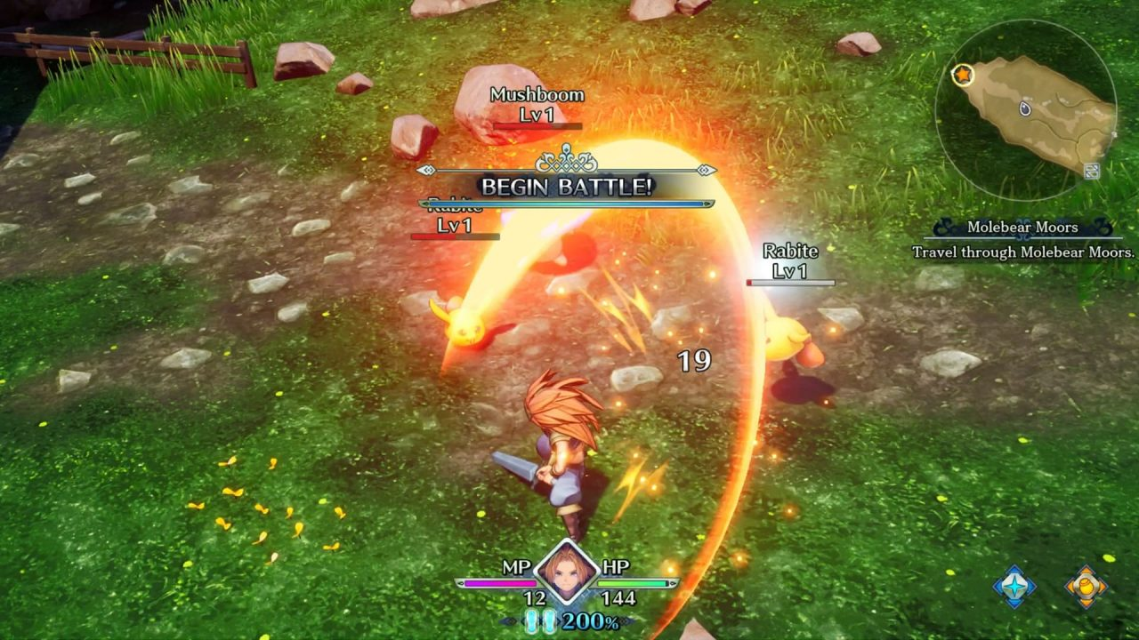 Battle 1 - Trials of Mana Review