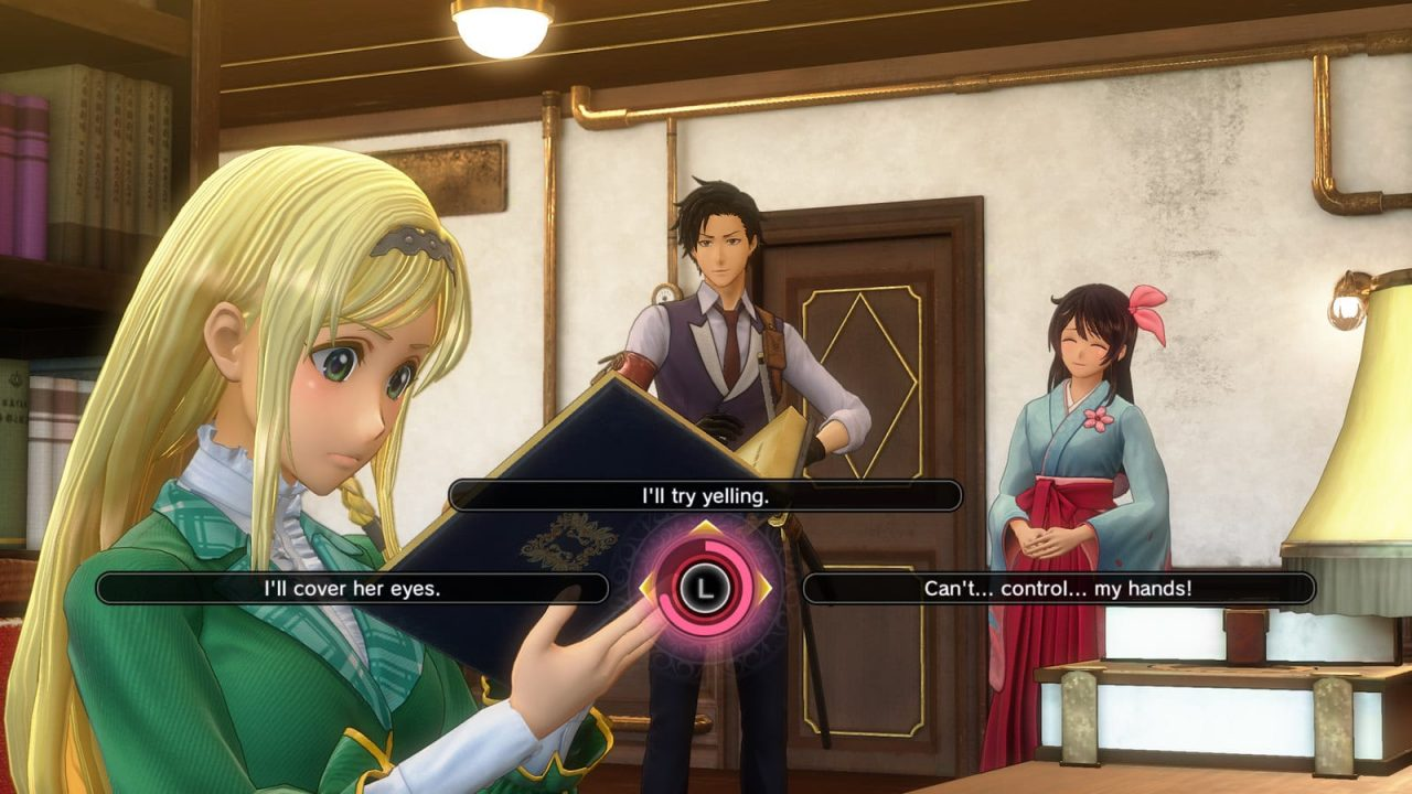 Sakura Wars (PlayStation 4) Review 2