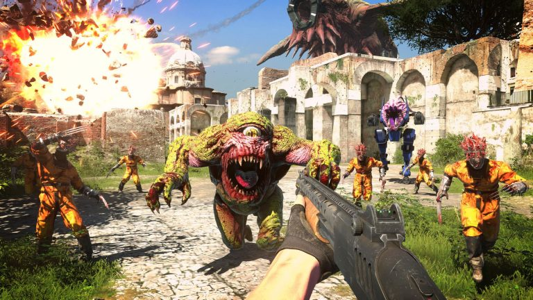 Serious Sam 4 Revives Over-the-top FPS Series on August 2020