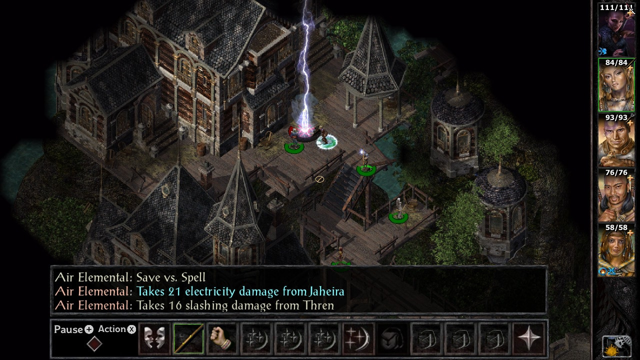 Baldur's Gate and Baldur's Gate II: Enhanced Editions Switch Review 3