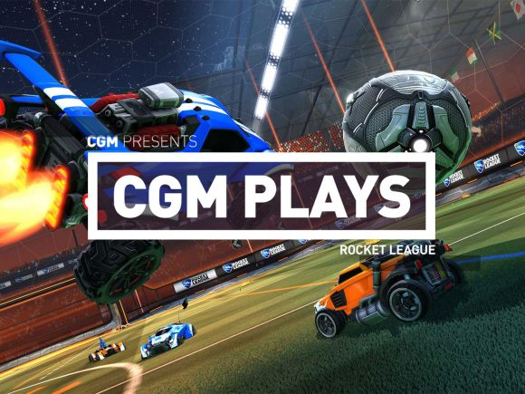 CGM Plays: Rocket League