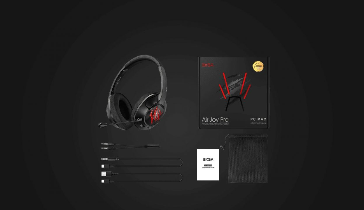 EKSA Air Joy Pro Gaming Headset Review 4