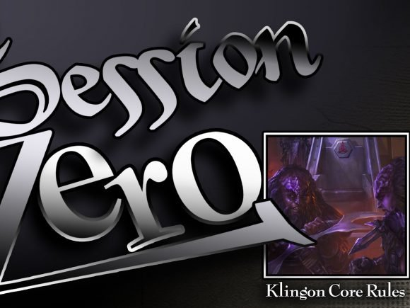 Terrible Warriors Session Zero Klingon Core Rulebook Titlecard