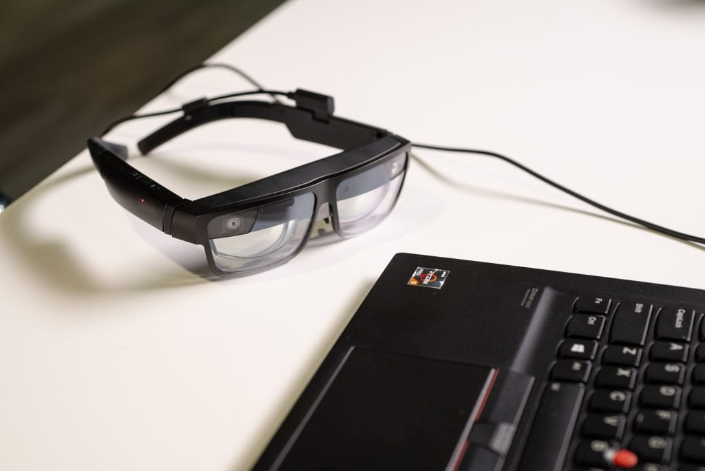 ThinkReality A3 image2 1024x684 1 - Lenovo Reveals ThinkReality A3 AR Glasses With Holographic Office Space