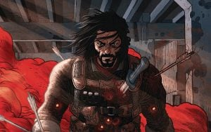 Keanu Reeves Creates BRZRKR Comic Series