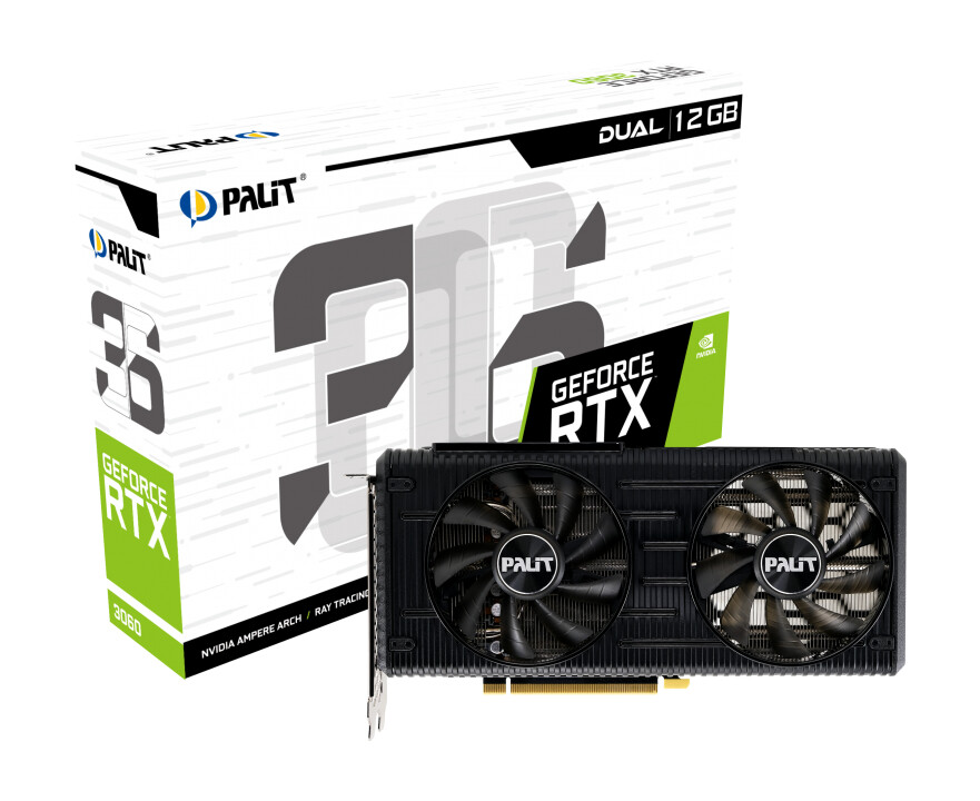 Palit Announces GeForce RTX 3060 StormX and Dual Graphics Cards 2